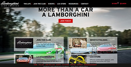 Lamborghini Club America Official National Site